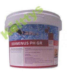 DIAMINUS PH GR Reductor de pH solido (8 KILOS)