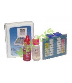 MEDIDOR TEST KIT CLORO Y PH Control de cloro, bromo y pH (1 UND)