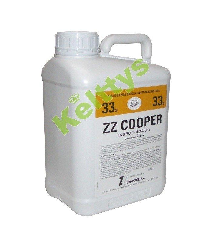 INSECTICIDA ZZ COOPER 33 Plagicida para uso en la alimentación (5 Litros)