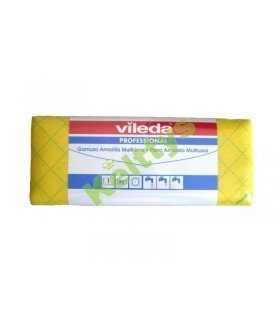 GAMUZA AMARILLA ROLLO 40X400 CM Limpieza en seco, húmedo o mojado para todo tipo de superficies  (1 UND)