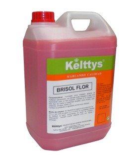 BRISOL FLOR Limpiador neutro con perfumes a flores para suelos y superficies lavables