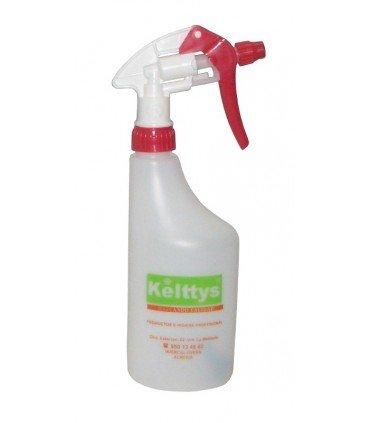 Spray rojo para productos con disolventes (1 unidad)
