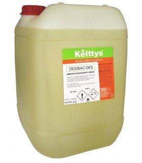 DESIBAC-DES desinfectante desodorizante urbano (25 LITROS)