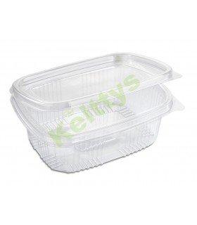 Bandeja de plástico OPS con tapadera para uso alimentario   Comprar Oferta Kelttys
