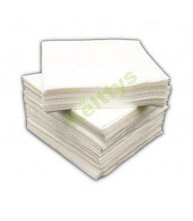 Servilletas de papel 20x20 fabricada en doble capa y diversos colores.