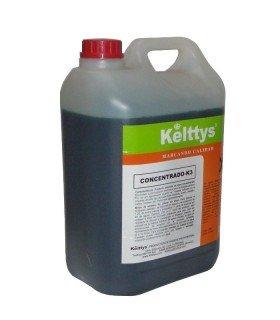 CONCENTRADO K3 Limpiador amoniacal ligeramente alcalino con agradable perfume (5 LITROS)