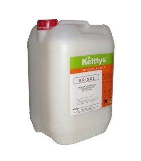 BRISOL Limpiador y abrillantador perfumado eficaz en suelos duros o sinteticos (10 LITROS)