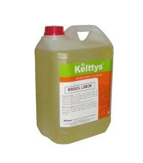 BRISOL LIMON Limpiador neutro con perfume a limon para suelos y superficies lavables