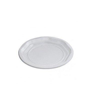 Platos y cubiertos de Plastico